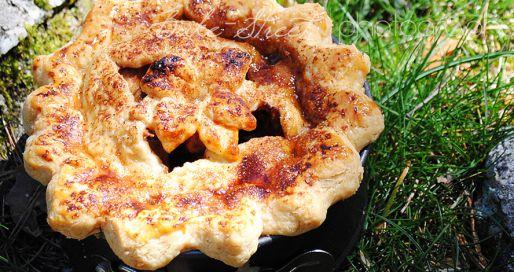 La cesta de Caperucita Roja: Tarta de manzana como en los cuentos