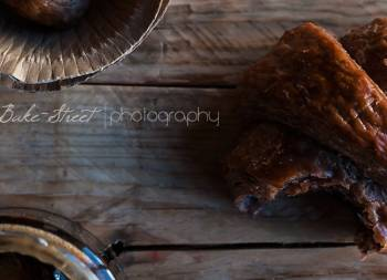 Croissants de chocolate y cerveza negra