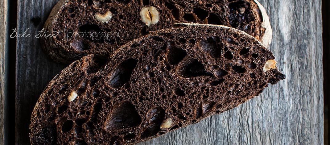 Pan de chocolate y cerveza negra {Nuevo taller online «Pan Casero»}