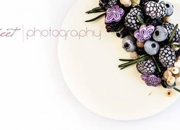 Tarta de violetas, recuerdos de la infancia