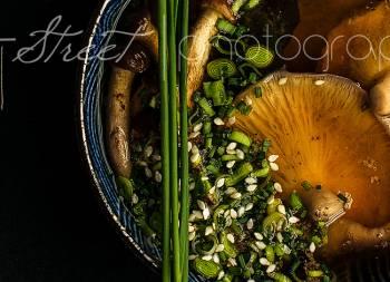 Sopa Miso con shiitake y wakame