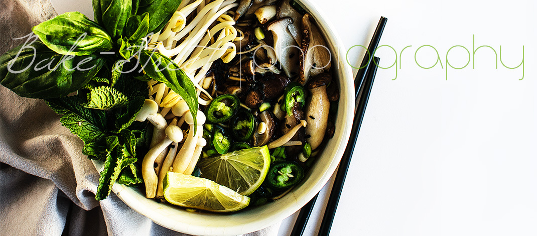 Vegetarian Pho – {Vietnamese soup with noodles}