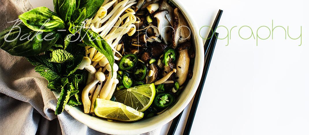 Vegetarian Pho – {Sopa Vietnamita con noodles}