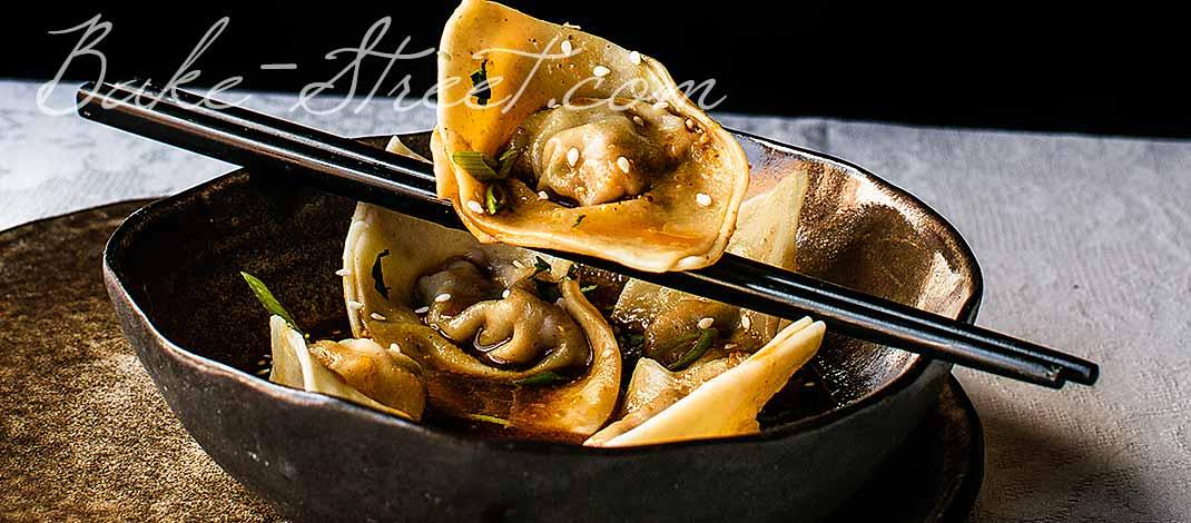 Shrimp Wontons Sichuan-Style