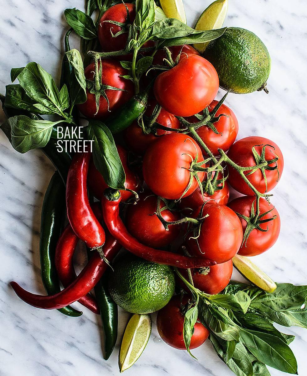 Crema de tomate con Toban-Djan