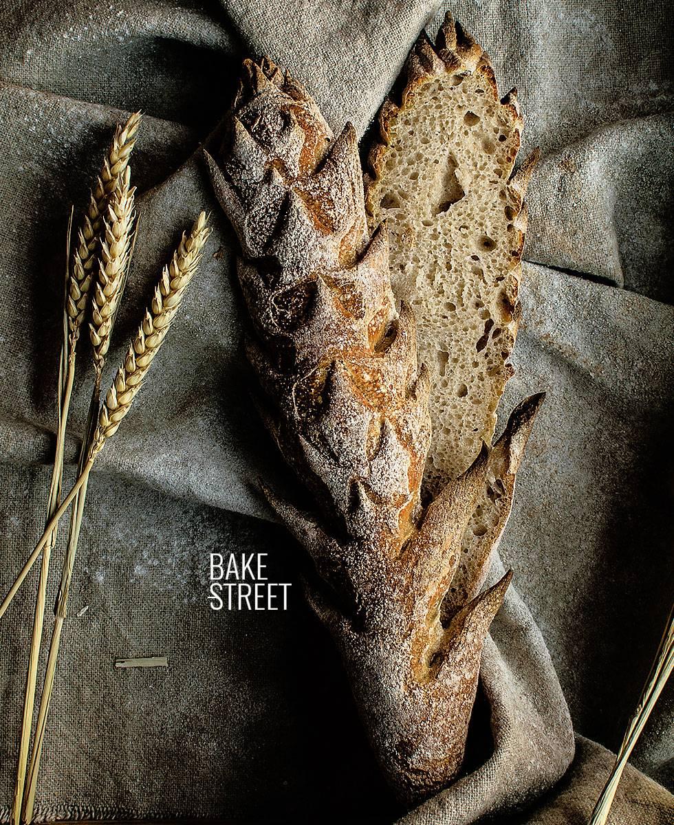 Pan de Espiga con masa madre