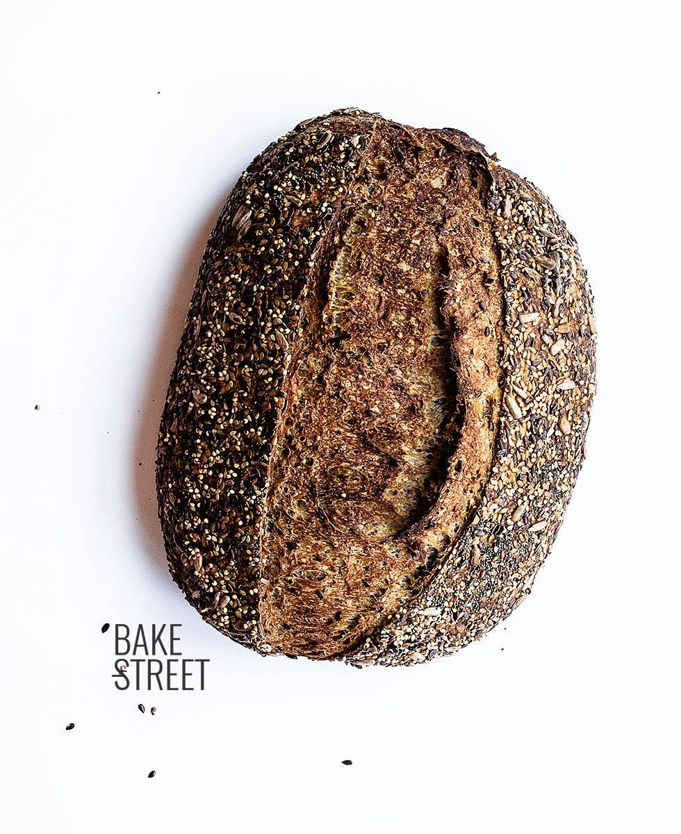 Pan de patata y semillas