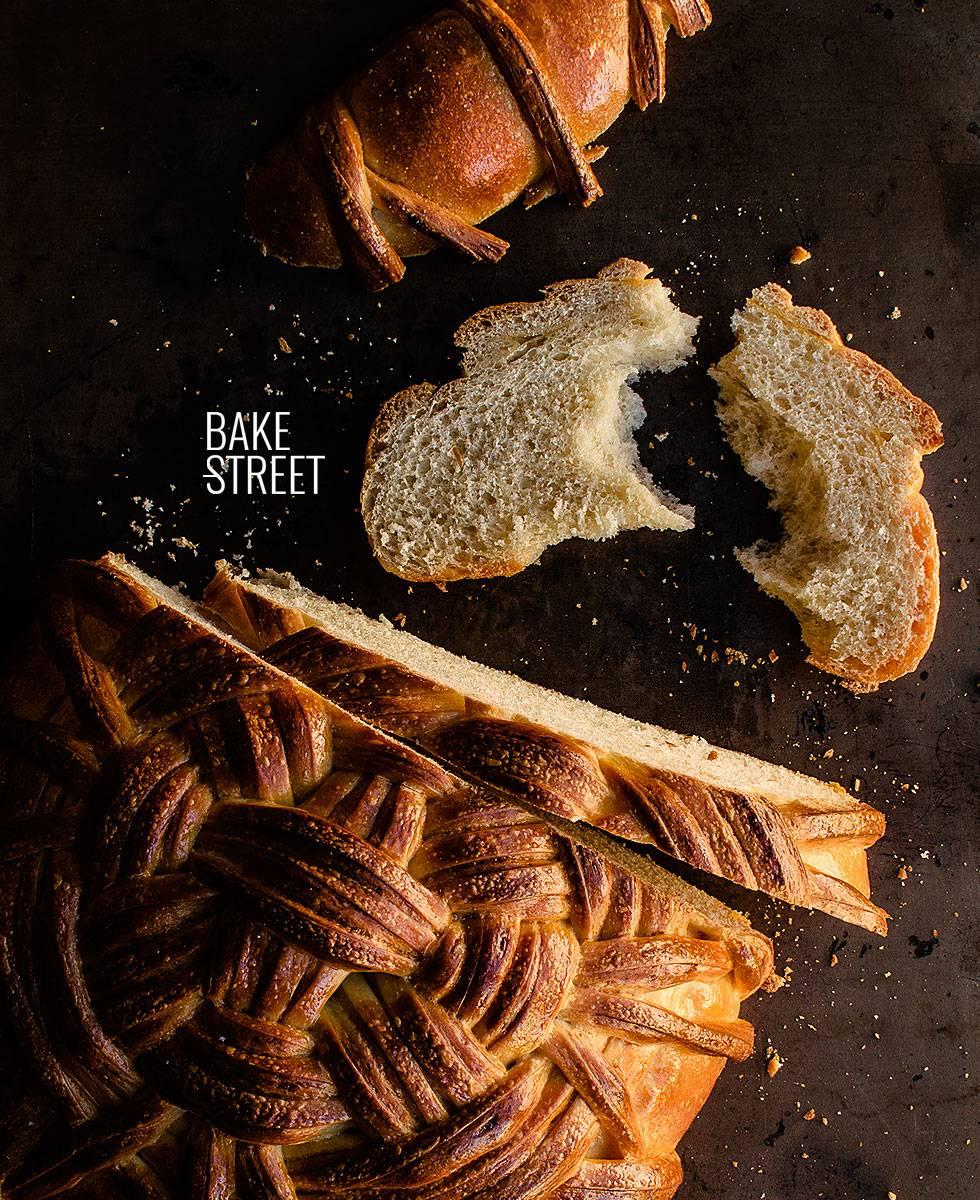 Flechtkorbbrot - Pan de Cesta