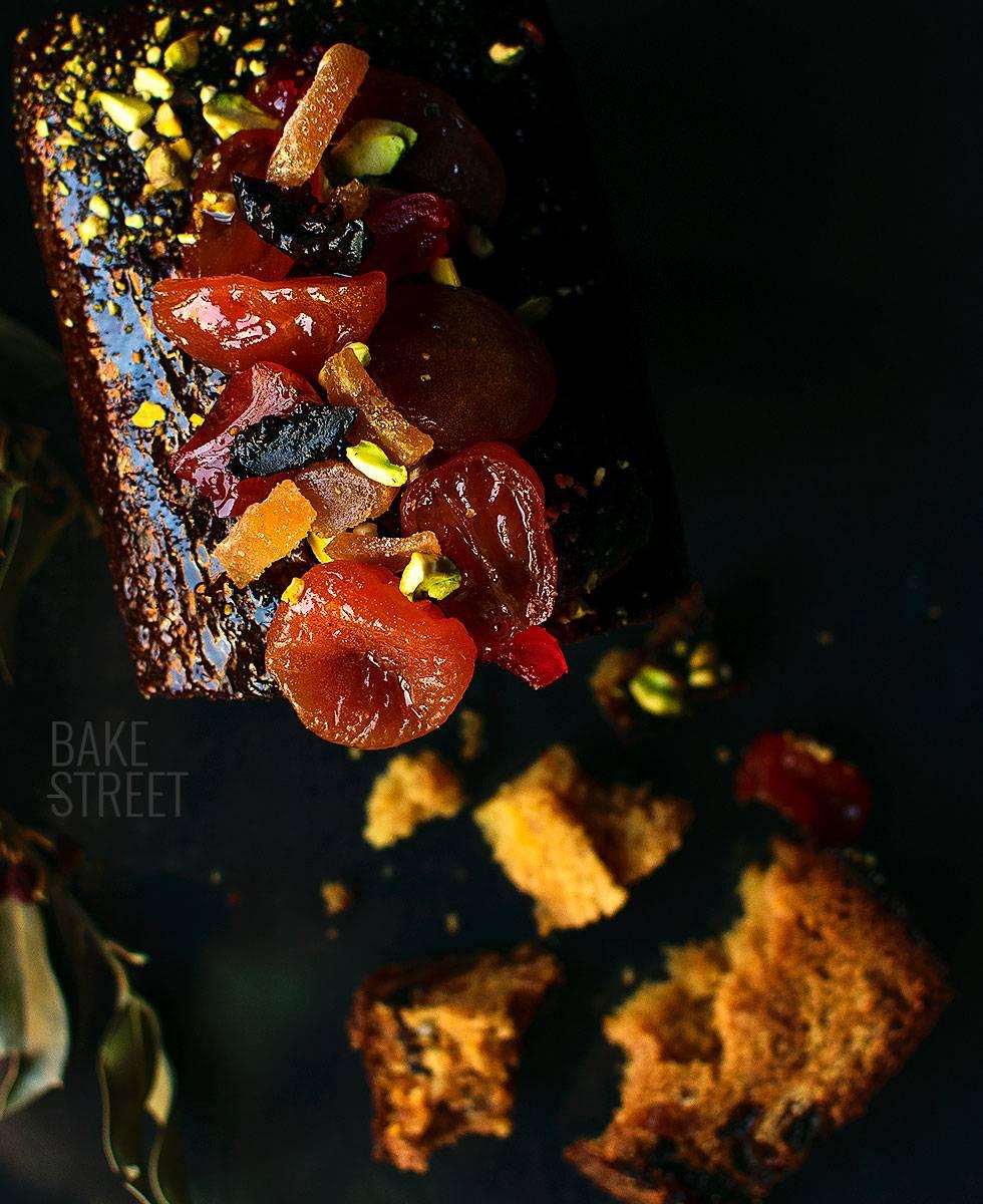 Cake aux fruits - Fruit Cake