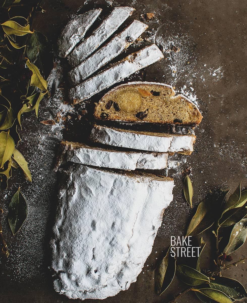 Stollen, pan alemán de Navidad