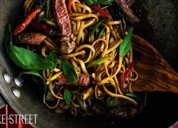 Pad Kee Mao – Drunken noodles