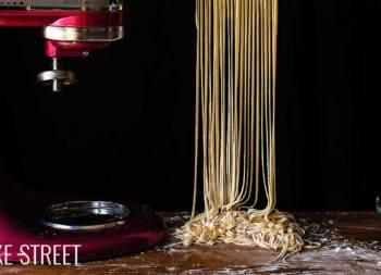 Cómo hacer noodles de huevo