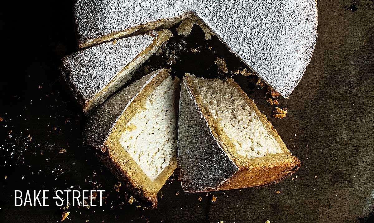 Crostata di Ricotta, tarta siciliana