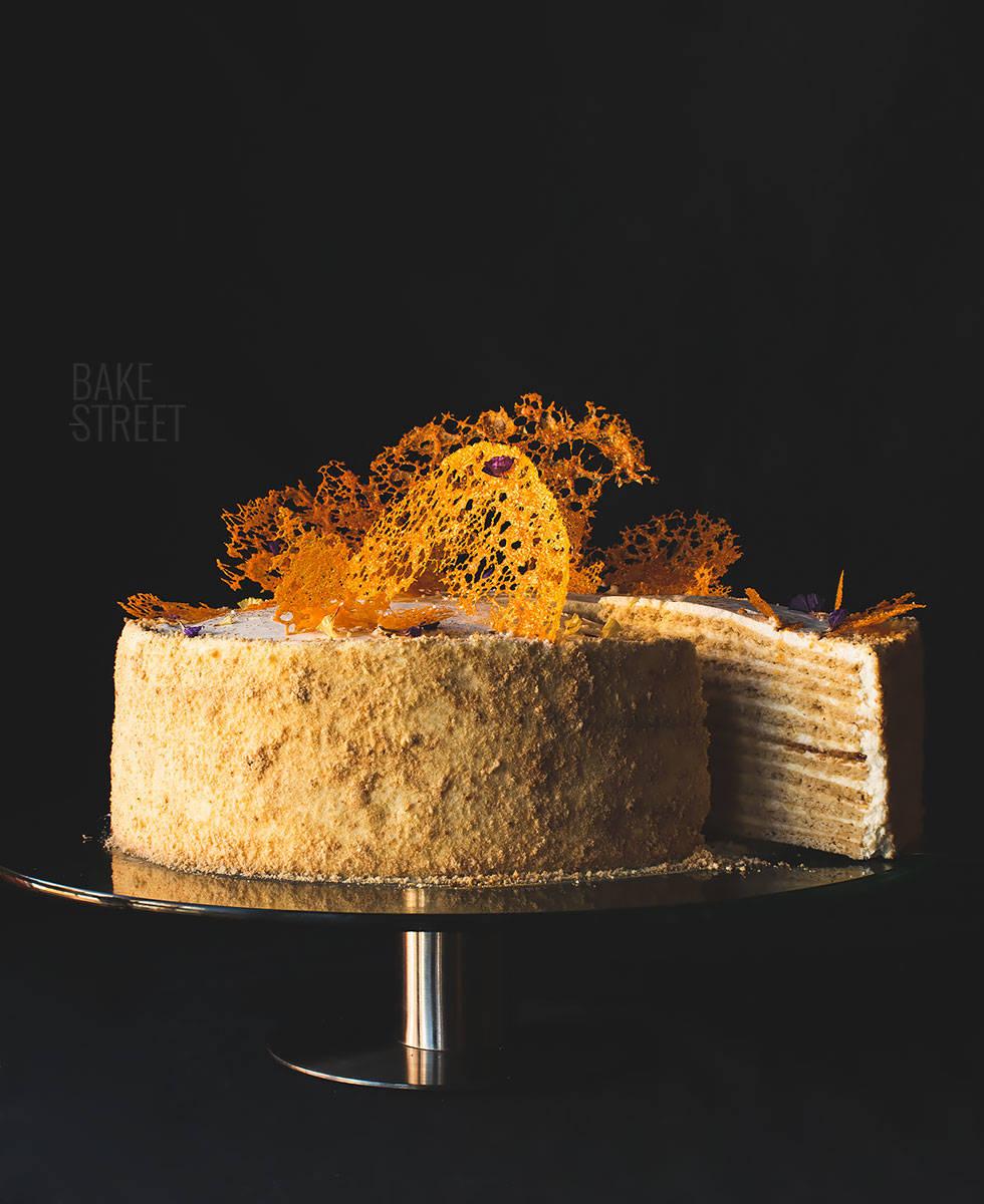Tort Medovik - Pastel de Miel Ruso