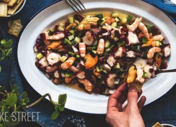 Salpicón de marisco – Seafood Salad
