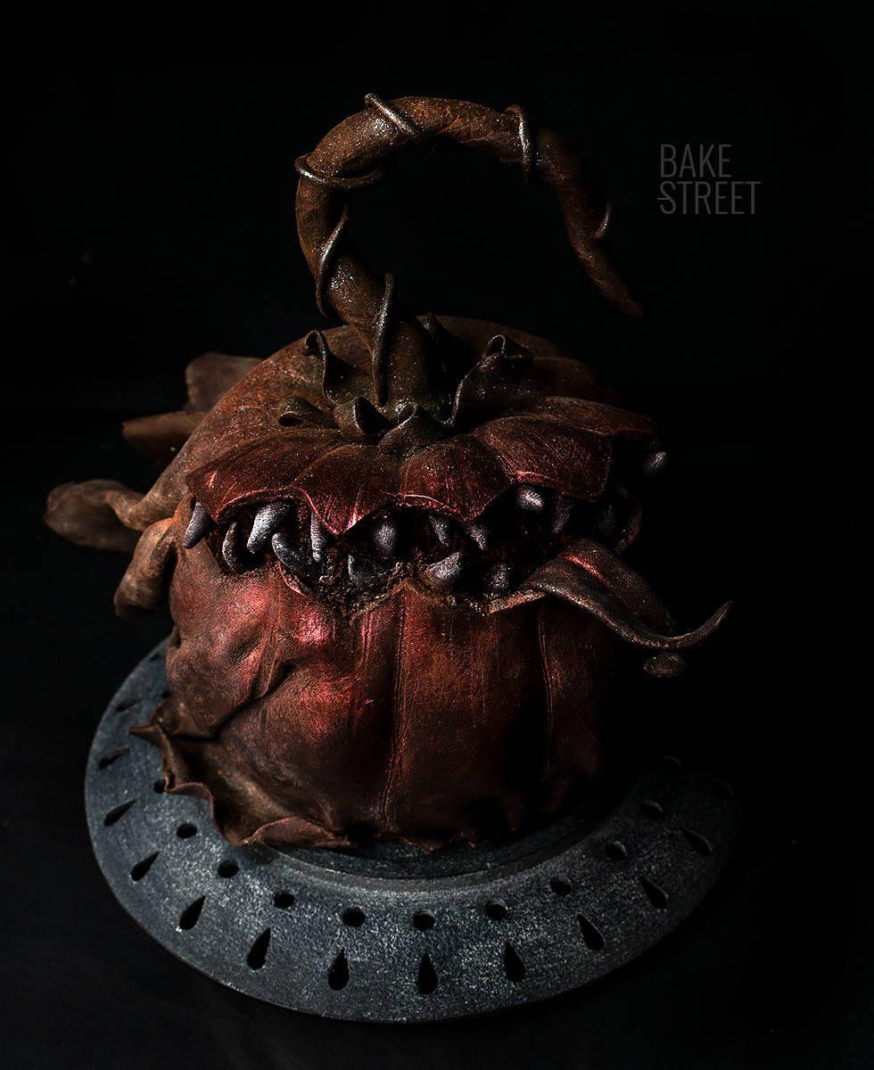 Monster Pumpkin Cake