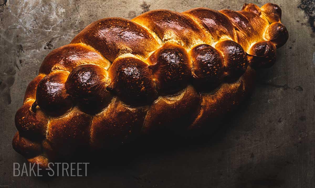 Sourdough Challah Bread